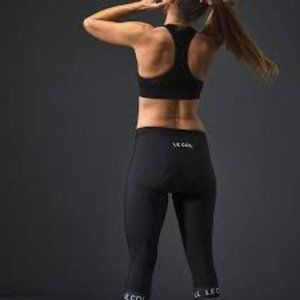 LeCol 3/4 Sport Waist Cycling Tights with Chamois